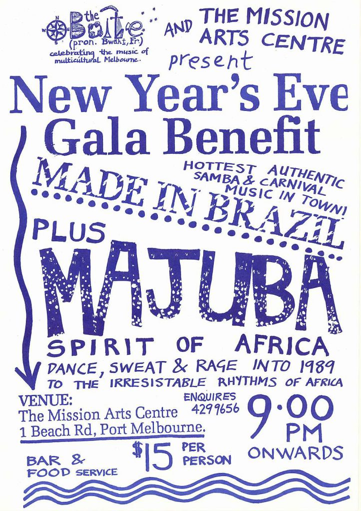 New Year's Eve Mission to Seafarers Poster, 1988