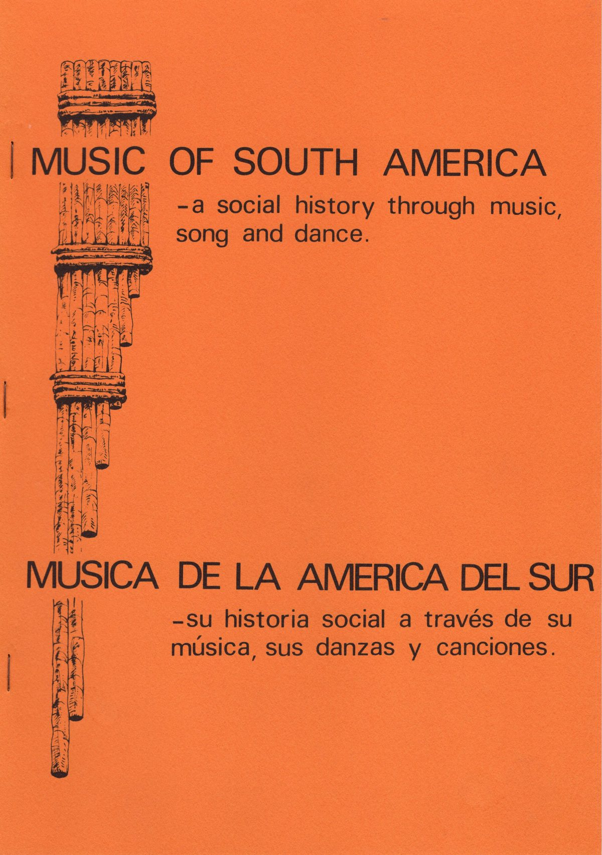 Concert Program for the South American Boîte, 1980