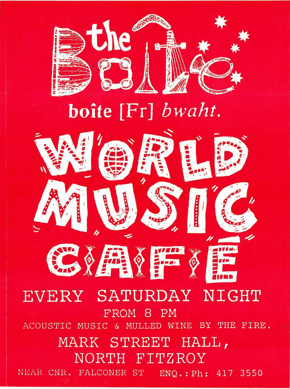 World Music Cafe Poster